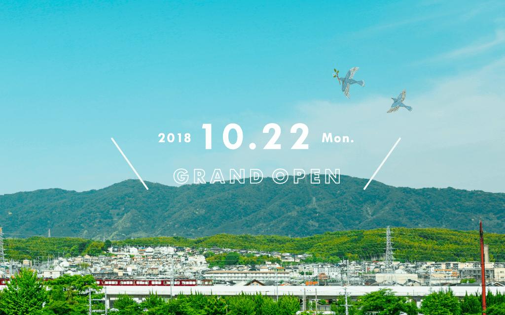 2018 10.22 Mon. GRAND OPEN